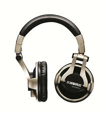 Shure SRH750DJ Over-Head Headphones DJ Monitor Music Pro SRH 750 Free Shipping