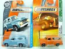 Matchbox 50's Ford F-100 Panel Delivery Diecast Car Lot: Color/Graphics Vary NIP