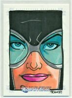 2007 RITTENHOUSE DC LEGACY CATWOMAN SKETCH CARD by RICH MOLINELLI 1/1