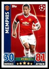 Match Attax Champions League 15/16 Memphis Manchester United FC No. 340