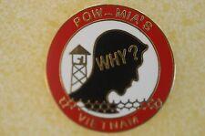 US USA POW MIA Military Hat Lapel Pin