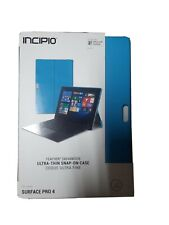INCIPIO FEATHER ADVANCED ULTRA THIN SNAP-ON CASE FOR SURFACE PRO 4 - BLUE