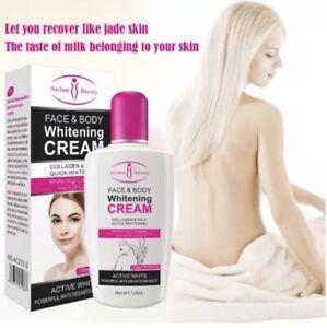 Collagen Milk Face Body Cream Skin Whitening Moisturizing Lotion