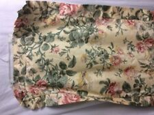 Waverly Pillow Sham King Yellow Floral Ruffle Shabby French Country Deluxe P1