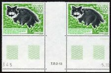 Fsat (Taaf) Scott #195 Vf Mnh 1994 Felis Catus (Cat) Cymric Breed Gutter Pair