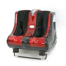 Shiatsu Kneading Foot Massager Rolling Foot Calf Ankle Leg Home Relax Red