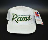 Colorado State Rams Sports Specialties Script Vintage 90s Snapback Cap Hat - NWT
