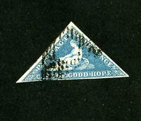 Cape of Good Hope Stamps # 3 Superb 3 margins used Scott Value $325.00