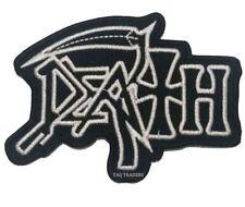 Death Parche Grupo Heavy Metal Música Chaqueta Jeans Bordado Plancha / de Coser