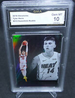 2019-20 Chronicles Tyler Herro Essentials Rookie Card GMA Graded Gem Mint 10