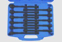Laser Tools 7104 Universal Joint Socket Set 3/8 Drive 9mm - 19mm ( 230mm Long )
