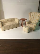 Retired Angelina Ballerina Couch, Chair, Ottoman  And Table American Girl