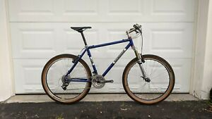 """2001 Independent Fabrications Deluxe 18"""" Hardtail MTB XTR Chris King Marzocchi"""