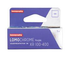 Lomography LomoChrome Purple XR 100-400 Rollfilm 120 MHD 05/2022