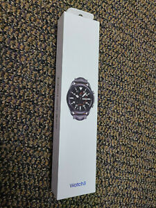 New Sealed Samsung Galaxy Watch3 Watch 3 R840 45mm Mystic Black - Leather Strap