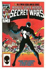 Marvel Super-Heroes Secret Wars 8   Spiderman's new black costume explained