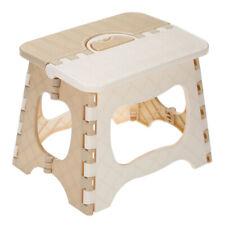 Plastic Folding Step Stool Portable Folding Chair Small Bench for Children B4V2
