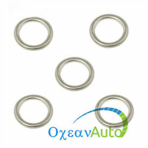 5PCS Oil Drain Plug Gasket Washer Seal N0138157 For VW Audi A3 A4 A5 A6 A7 A8