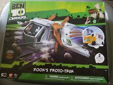 New Ben 10 Omniverse Rook's Proto-Truk with Rook Figure