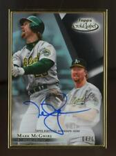 2018 Topps Gold Label Framed Mark McGwire 4/15 Auto Autograph