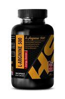 l-arginine capsules - L-ARGININE 500mg - amino acid capsules - 1 Bottle