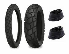 Shinko 90/90-21 & 130/80-17 705 Tires & Tubes Set BMW F650GS Dakar/R100GS Dakar