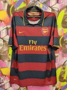 Arsenal Gunners Football Shirt Soccer Jersey Third Form Nike 2007 Mens Size XXXL