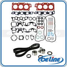 Fit 99-03 Toyota Sienna Lexus RX300 3.0 1MZFE Head Gasket Set Timing Belt Kit