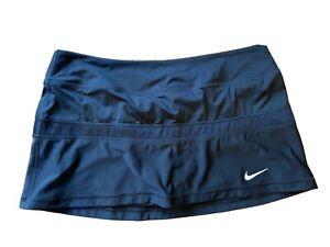 Women's Nike TENNIS Dri-Fit Skort Skirt Sz L EUC