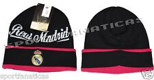 REAL MADRID BEANIE NEW SEASON OFFICIAL SKULL CAP HAT WINTER  AUTHENTIC