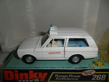 dinky  268 range rover  ambulance