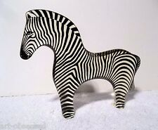 Abraham Palatnik Lucite Acrylic LG Zebra Sculptures Figurines Pal Brazil 865
