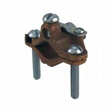 Orbit Gca-50/100 0.5 Inch to 1 Inch Armored Ground Clamp with Steel Screw