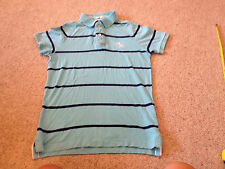 Camisa polo Abercrombie Fitch azul adulto medio (a)