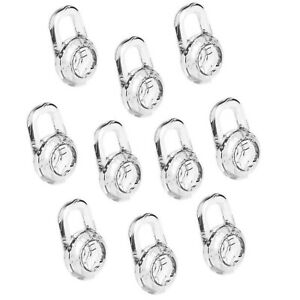 Earbud Gels for Plantronics Headset 10PCS Clear Replacement Gels - Small Size