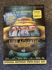 The Life Aquatic With Steve Zissou (DVD, 2005, 2-Disc Set, Criterion Collection)