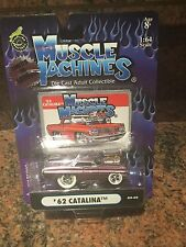 1:64 1962 Catalina Chase Car MUSCLE MACHINES BLOWN / SUPERCHARGED In Purple