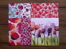 "Stampin' Up! 6x6 Designer Paper Pack ""Peaceful Poppies"""