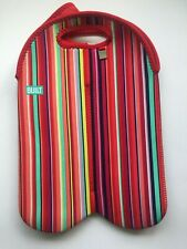 BUILT NY Three Bottle Tote Stripe 10th Anniversary Limited Edition