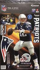 "Tom Brady New England Patriots Fathead Teammate Super Bowl 51 Champs 6""W x 1'4""H"
