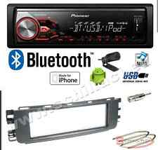 Pioneer MVH-390BT autoradio USB / bluetooth + Kit montaggio per Smart ForFour