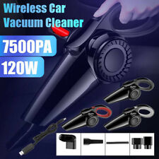 7500PA Car Vacuum Cleaner Cordless Portable Handheld Wireless Vaccum Cleaner