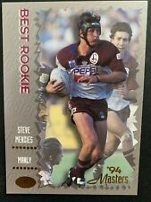 STEVE MENZIES (MANLY SEA EAGLES) '94 MASTERS ROOKIE CARD