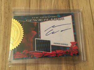 "Rittenhouse ""The Amazing Spider-Man"" Costume Card Autographed by Andrew Garfield"