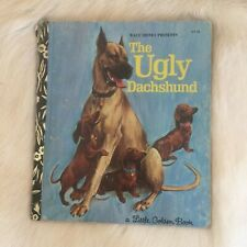 The Ugly Dachshund Little Golden Book Hardcover 1973 1st Sydney Edition Dog