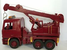 Bruder Mercedes Repainted Maroon Crane Made in Germany Construction