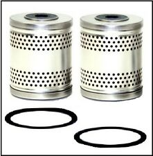 Set of Oil Filter Cartridges for 1952-1957 DeSoto V-8,1957-58 Chrysler, 1958 Imp