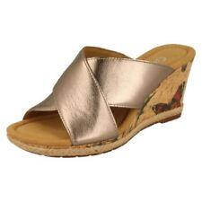Sandali e scarpe con zeppa Gabor marrone per il mare da donna