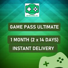 Xbox Game Pass Ultimate + Live GOLD 1 Month (14 Day x 2)  QUICK DELIVERY
