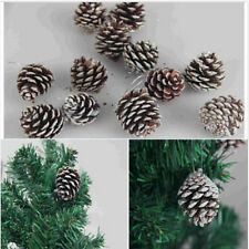 Wholesale Natural 1 Pack of 9 Pine Cones Baubles Xmas Tree Decorations Pop